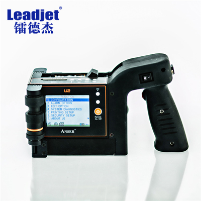 Handheld Portable Inkjet Printer / Continue Inkjet Date Code Printer