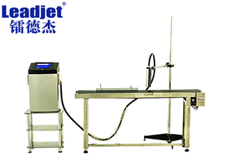 48 Dots Leadjet Small Character Continuous Inkjet Printer 10000 Bottles/Hour Speed