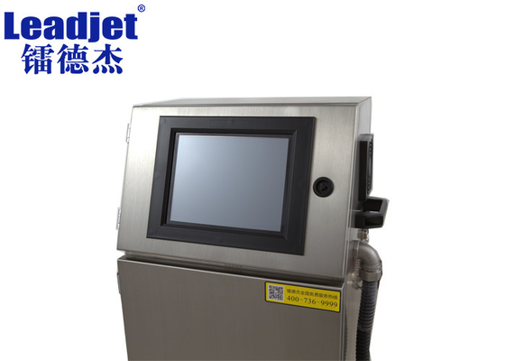 Leadjet CIJ Ink jet Expiry Dater Printer 120m/min Printing Speed For Pipe / Wire Printing