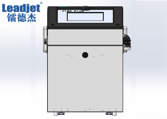 V150PLUS 280m / Min CIJ Inkjet Printer 1-3 Lines Information 1.5-20mm Font Height